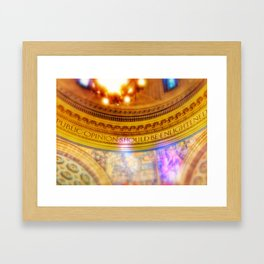 Public Opinion Framed Art Print