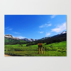 Gothic Campground Canvas Print