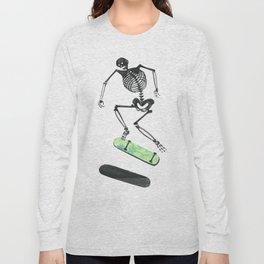 Skeleton Skater Long Sleeve T-shirt