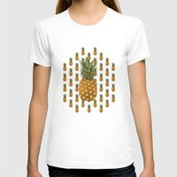 pineapples T-shirts featuring Pineapples by brocoli art print
