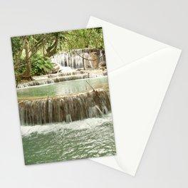 Zen Waterfalls Harmony Stationery Cards