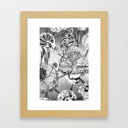 1,616199·10^(-35) m Framed Art Print