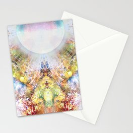 Distortion divded by Zero Stationery Cards