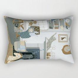 Baby Animal Nursery Rectangular Pillow