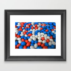 Sweets Candy cases Framed Art Print