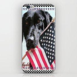 """American Buddy"" iPhone Skin"