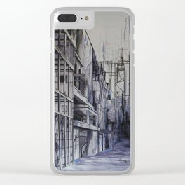 Invisible city Clear iPhone Case