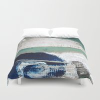 surf Duvet Covers featuring Surf by Bella Blue Photography