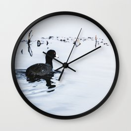 Lucky Duck - Animal Nature Photography Wall Clock