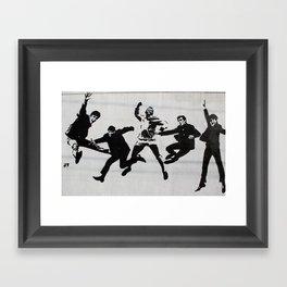 Fab Five Framed Art Print