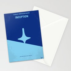 No240 My Inception minimal movie poster Stationery Cards