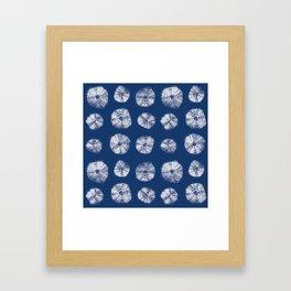 Kumo shibori Framed Art Print