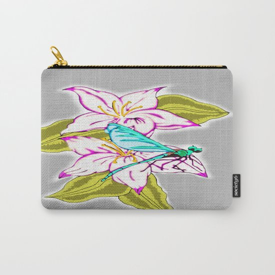 Dragonfly Escape Carry-All Pouch