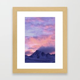 Rose Serenity Sunrise III Framed Art Print
