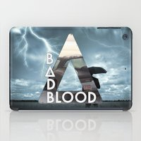 bastille iPad Cases featuring Bastille - Bad Blood by Thafrayer