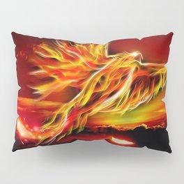 Phoenix Bird Fire Pillow Sham