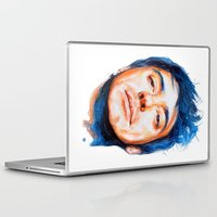 robert downey jr Laptop & iPad Skins featuring Robert Downey Jr. by KlarEm