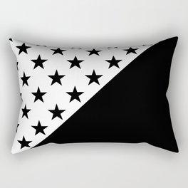 ASTRONOMIC PATTERN (BLACK-WHITE) Rectangular Pillow