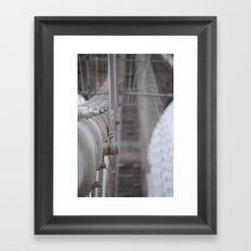 The  (Brooklyn) Bridge Framed Art Print