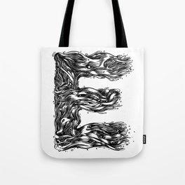The Illustrated E Tote Bag