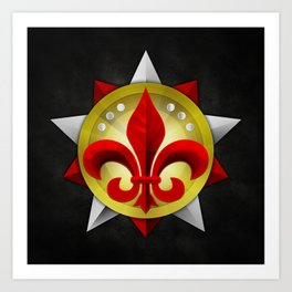 Prestige Emblem #1 Art Print