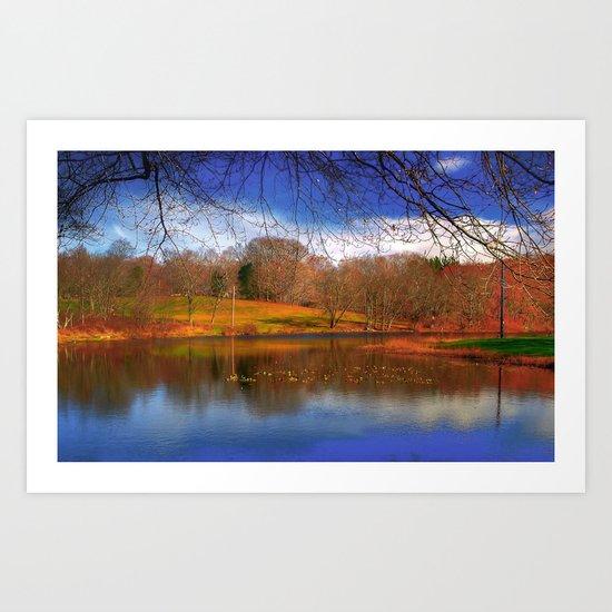 Autumn, Fall Art Print