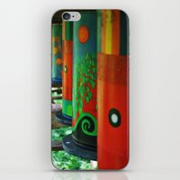 drums iPhone & iPod Skins featuring Tin Drums by  Alexia Miles photography