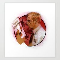 shaun of the dead Art Prints featuring Shaun of the Dead by Mark Eastbrook