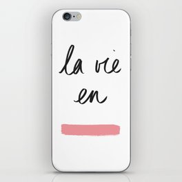 La Vie en Rose x Telma W. iPhone Skin