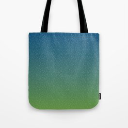 Constellations (Green) Tote Bag