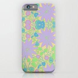 chrysanthemums in Pastels By Danae Anastasiou iPhone Case