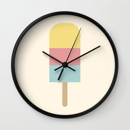 Summer Popsicle Wall Clock