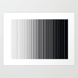 ABSTRACT LINES 2 Art Print