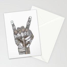Mech-Rock Stationery Cards