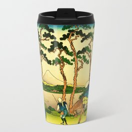 Hodogaya Station on the Tokaido Road Travel Mug