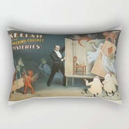 Vintage poster - Kellar the Magician Rectangular Pillow