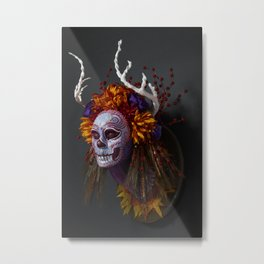 Autumn Muertita Side Metal Print