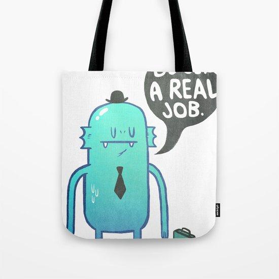 Job Hunt Tote Bag
