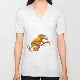The Laughing Serpent Unisex V-Neck