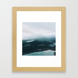 From High Above  Framed Art Print