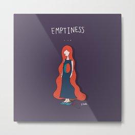 Emptyness Metal Print