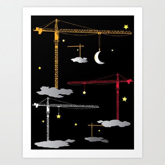 The Night Crew Art Print