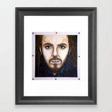 Tim Minchin(painting) Framed Art Print