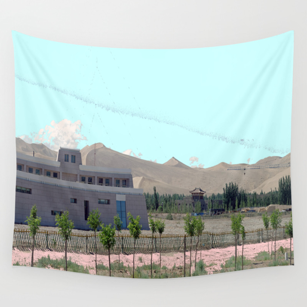 Brick Mansion Wall Tapestry by Lookiz TPS2711039