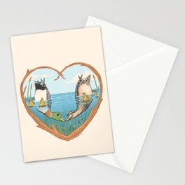 Duck Love Stationery Cards