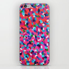Pink Dreams Abstract Painting iPhone Skin