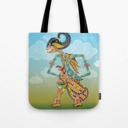 Kamajaya shadow puppet Tote Bag