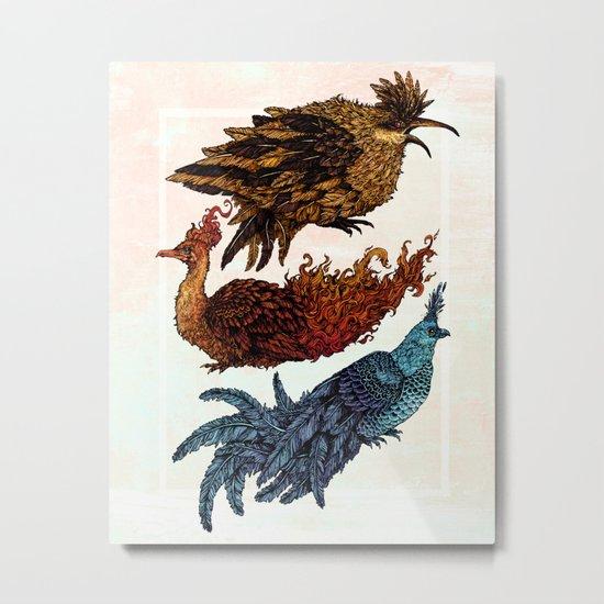 Legendary Birds Metal Print