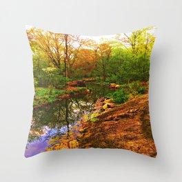 Nature's Heart Healer Throw Pillow
