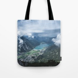 Alpine Lake // Landscape Photography Tote Bag